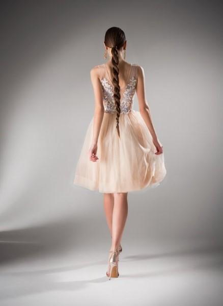 Вечернее платье на выпускной  0425а