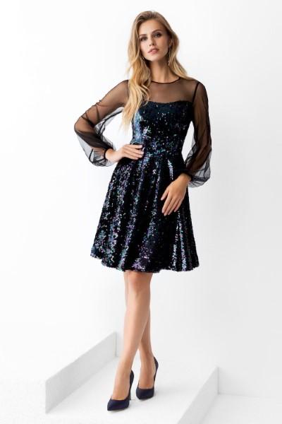 Платье на выпускной -  0432/02