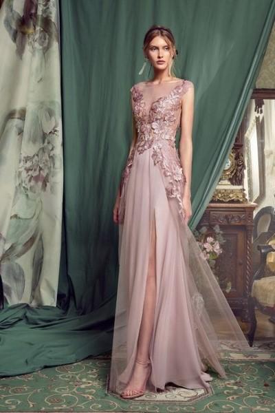 Нежное кружевное платье 0448