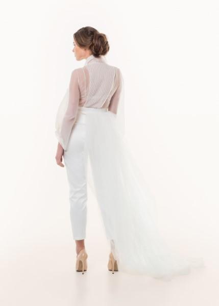 Свадебное платье с рукавами 817