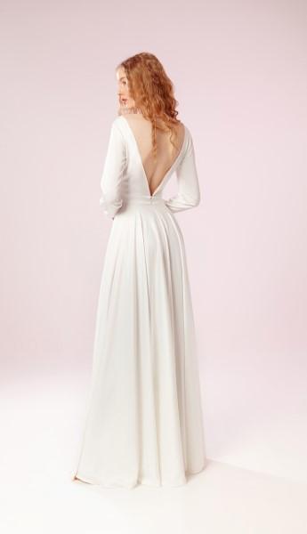 Лаконичное свадебное платье Пенни