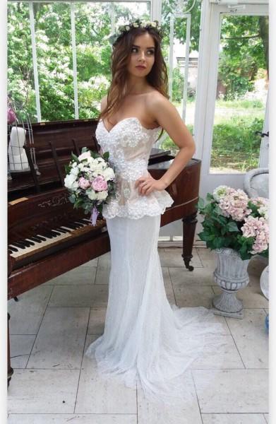 Свадебное платье  tony bowls tbe 11454 В наличии в Спб