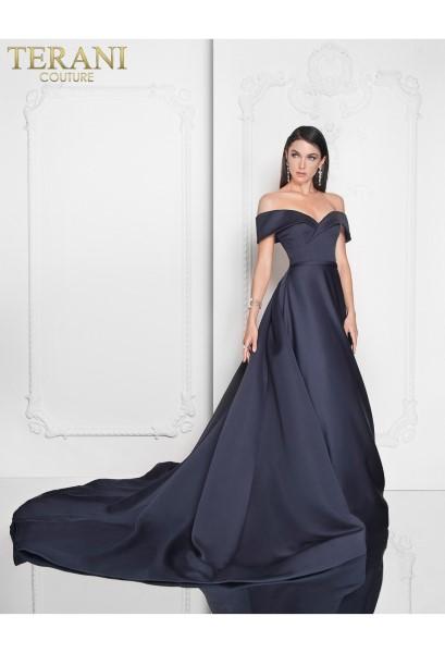 Длинное вечернее платье terani couture 6276