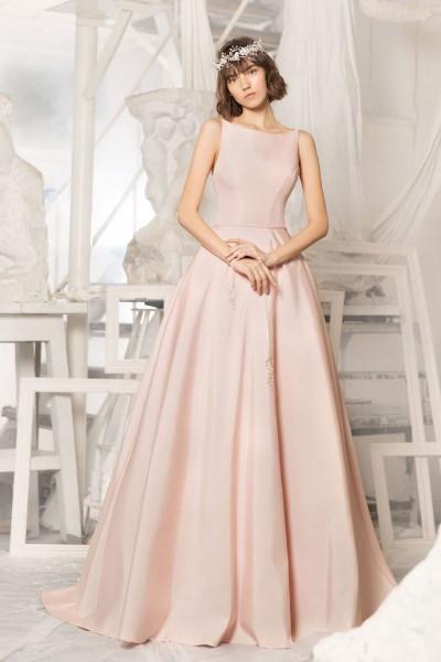 Цветное свадебное платье Miki