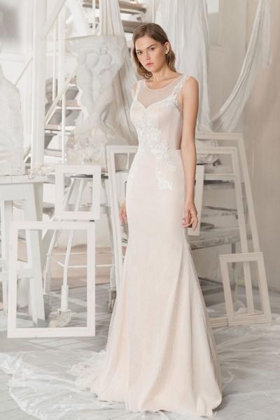 Свадебное платье, силуэт рыбка
