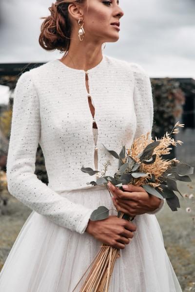Свадебный жакет Sequin