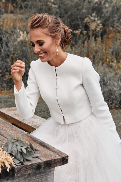 Свадебный жакет Chanel