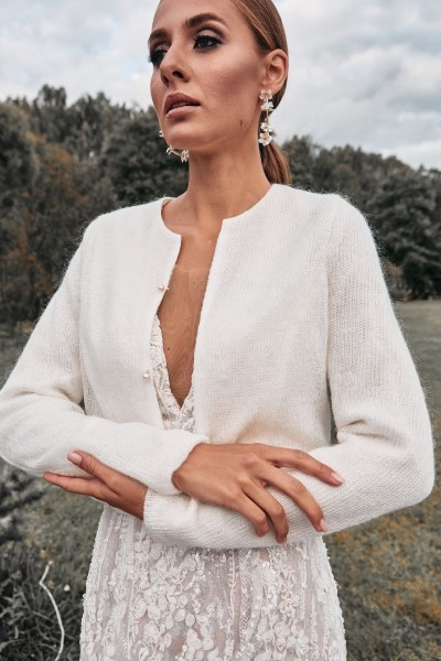 Свадебный жакет Knit