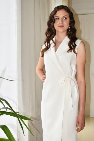 Короткое свадебное платье мирей