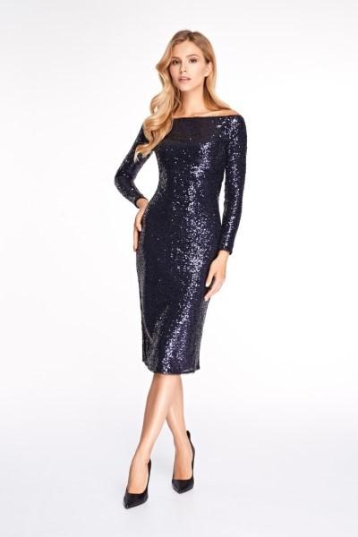 Женское платье 0346 EMSE BLACK
