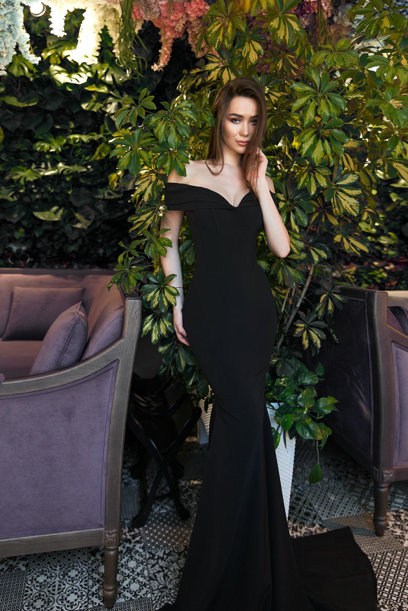 Длинное вечернее платье eva lendel 18