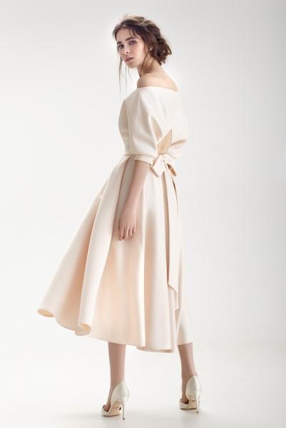 Свадебное платье ниже колена Бэйли
