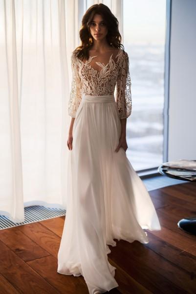 Свадебное платье с корсетом Шейла