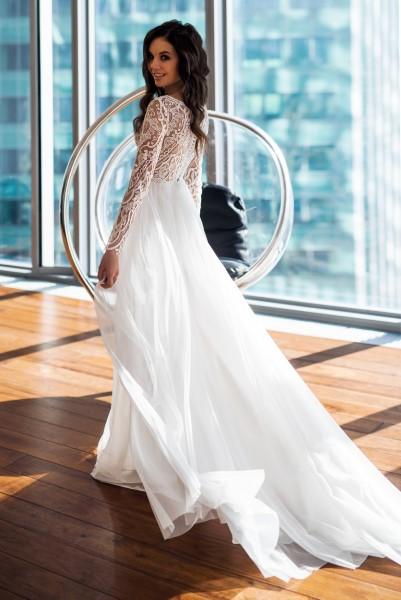 Свадебное платье с рукавами Ясмина