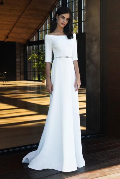 Свадебное платье Ронда с рукавом