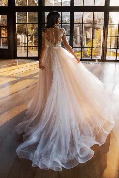 Свадебное платье а-силуэта Эванс