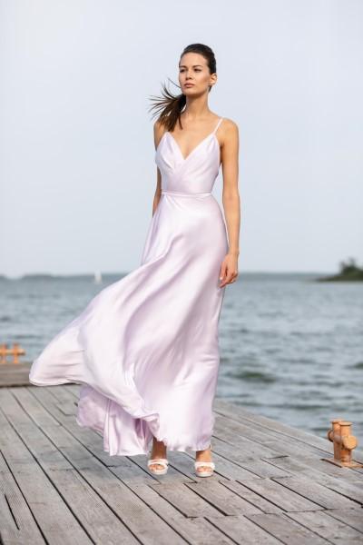 Вечернее платье лилового цвета MOLLY
