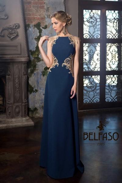 Платье на выпускной -  vivien blue длинное.