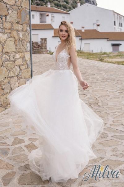 Легкое свадебное платье Астрид