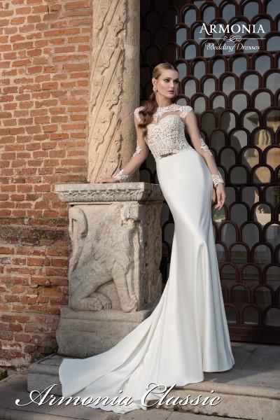 Свадебное платье  армония классик В наличии в Спб