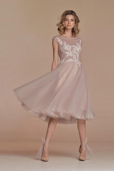 Пышное вечернее платье Люси
