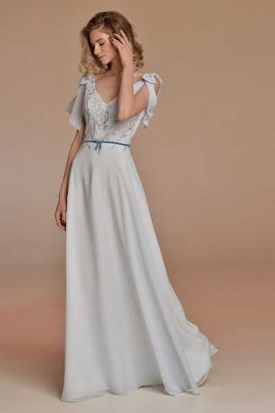 Легкое вечерние платье Акварель