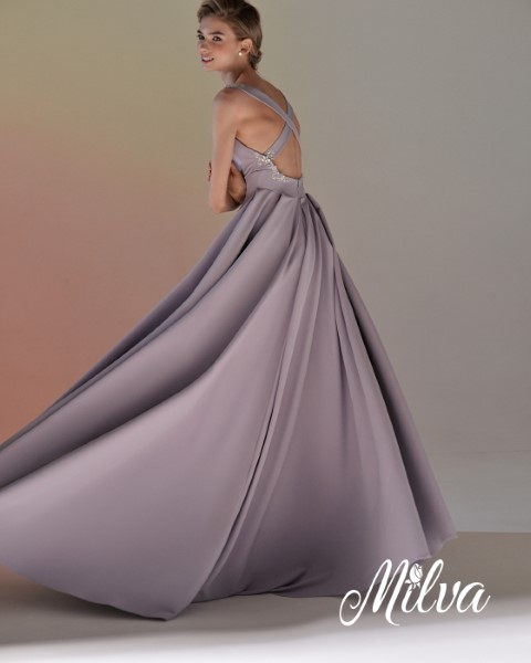 Светло- лиловое вечернее платье Дарси