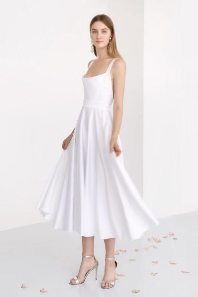Cвадебное платье ELLE миди