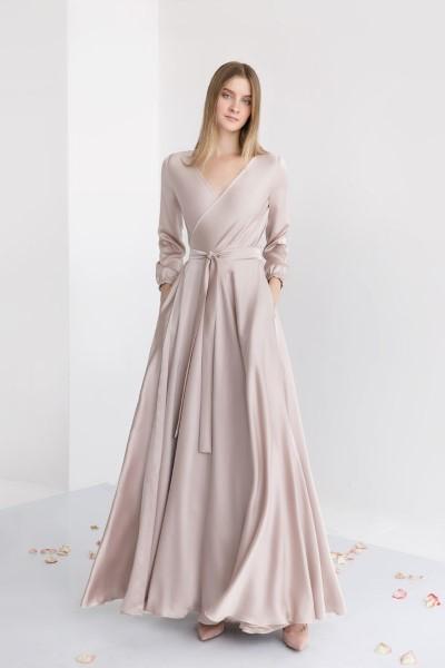 Вечернее платье на запах Инди Юнона