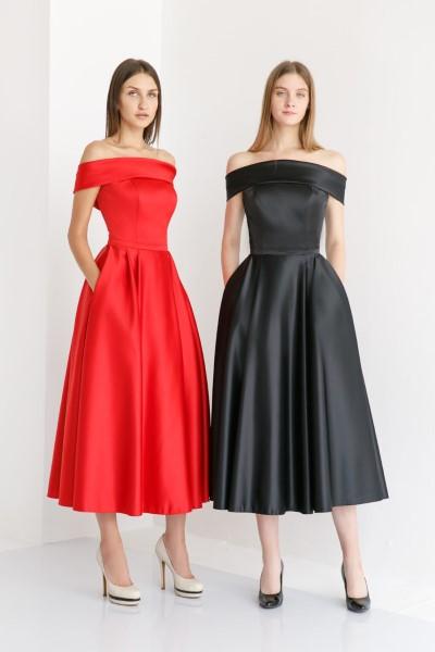 Стильное вечернее платье Аллин