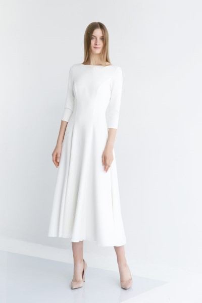 Платье на свадьбу в длине МИДИ Стейси
