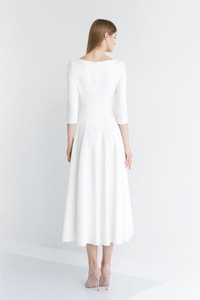Свадебное платье в длине МИДИ Стейси