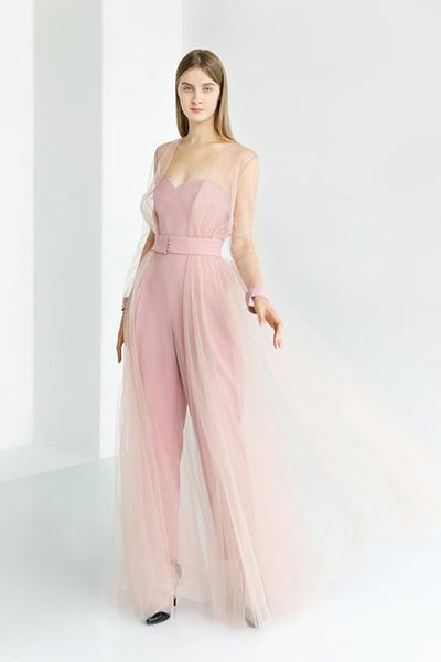 Вечернее платье 4817 Костюм розового цвета