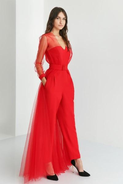 Платье 4817 Костюм красный