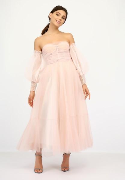 Свадебно-вечернее платье Дора