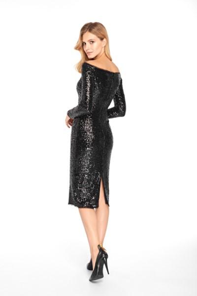 Вечернее платье 0346 EMSE BLACK