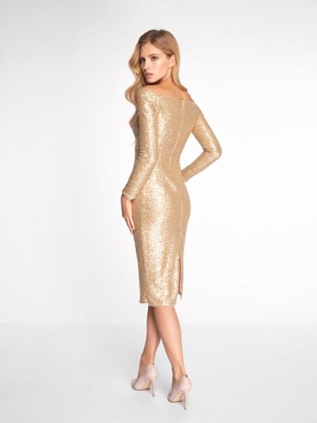 Вечернее платье 0346 EMSE (золото)