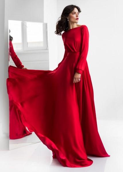 Лаконичное вечернее платье Пенни (в наличии в длине МИДИ)