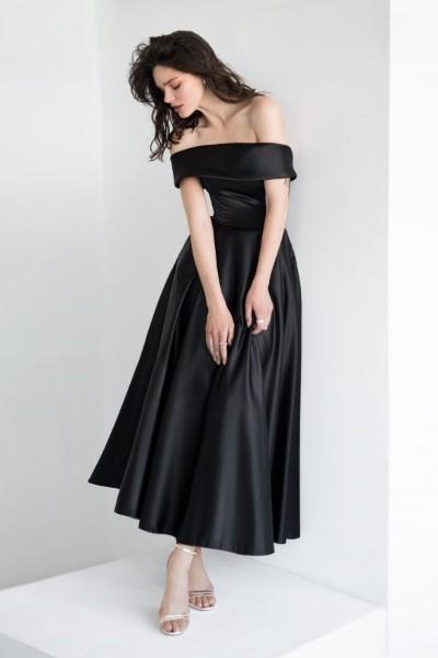 Вечернее стильное платье Аллин длинное