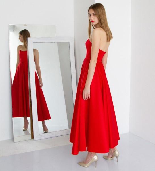 Вечернее платье Лизи в длине миди