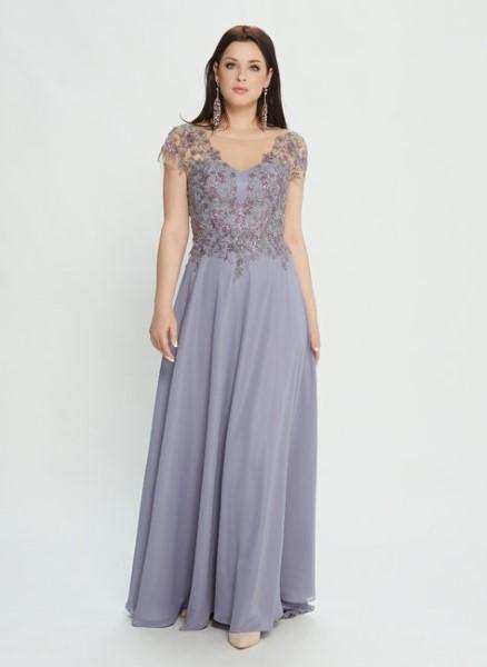 Вечернее платье в пол М0502