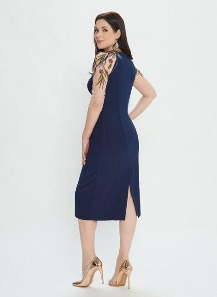Вечернее платье лилового цвета М0538
