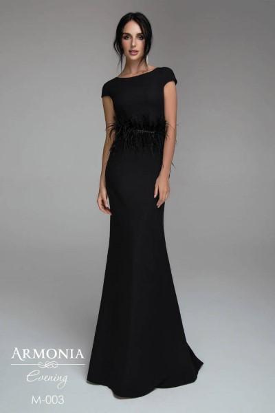 Длинное вечернее платье minimal 003