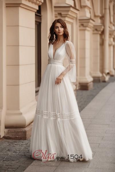 Необычное свадебное платье 1504 O.S.