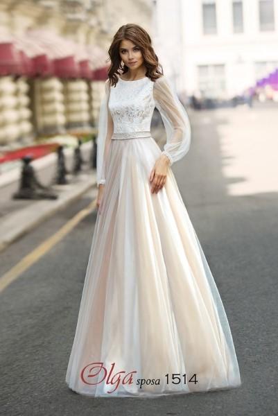 Свадебное платье  на венчание 1514 O.S.