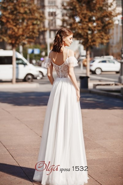 Нежное свадебное платье 1532 O.S.