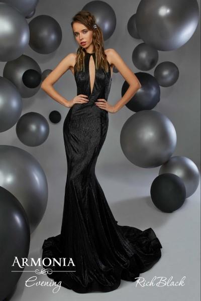 Длинное вечернее платье rich black