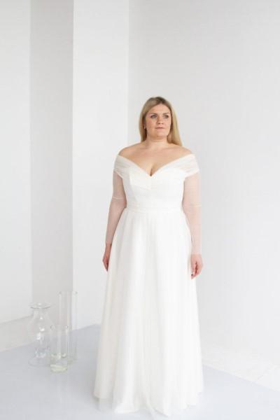 Платье Роза Plus size