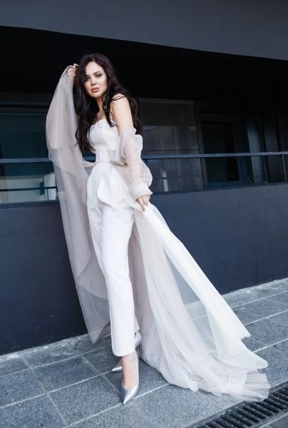 Эксклюзивное Платье 4817 Костюм
