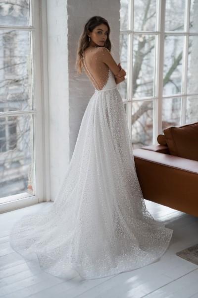 Свадебное платье Филис скрытой спинкой Натальи Романовой